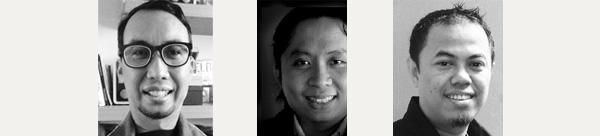 Hastjarjo Boedi Wibowo, Mendiola Budi Wiryawan, dan Arif PSA