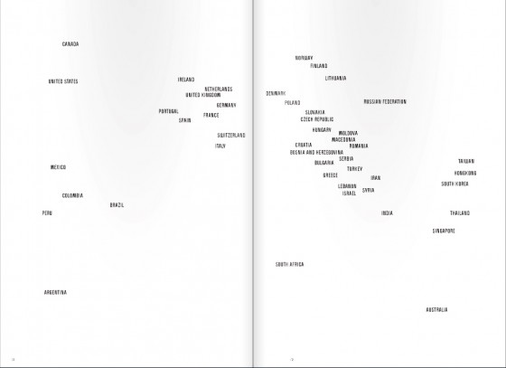 Gb. 3. Peta desain internasional versi ':output', ':output' 13, 2010.