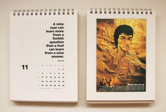 November: Bruce Lee (27 November 1940)