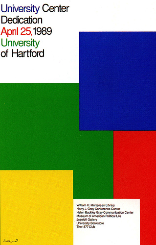Paul Rand did an enormous amount of innovative, award winning work throughout his lifetime.