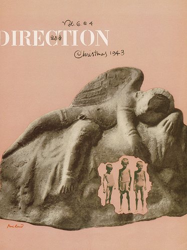A Paul Rand designed Direction magazine cover 1943