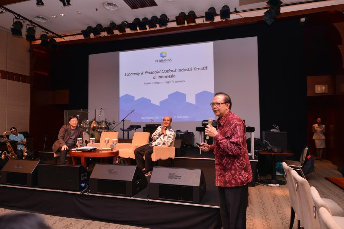 Sigit Pramono, Industri Kreatif tumpuan masa depan Indonesia