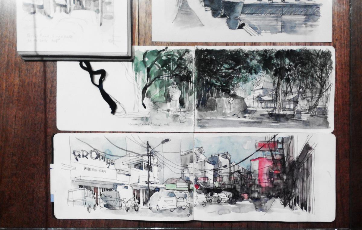 """Sketsa Tangan"", Mohammad Thamrin"