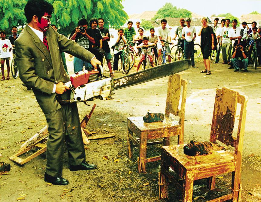 Qurban-Destruksi I, 1997. Gambar: unprojects.org.au