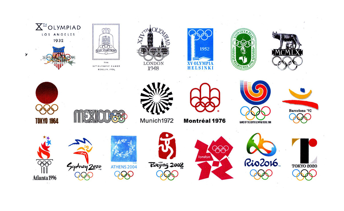 Logo-Logo Olimpiade