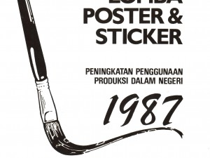 Cover Lomba Poster & Stiker 1987