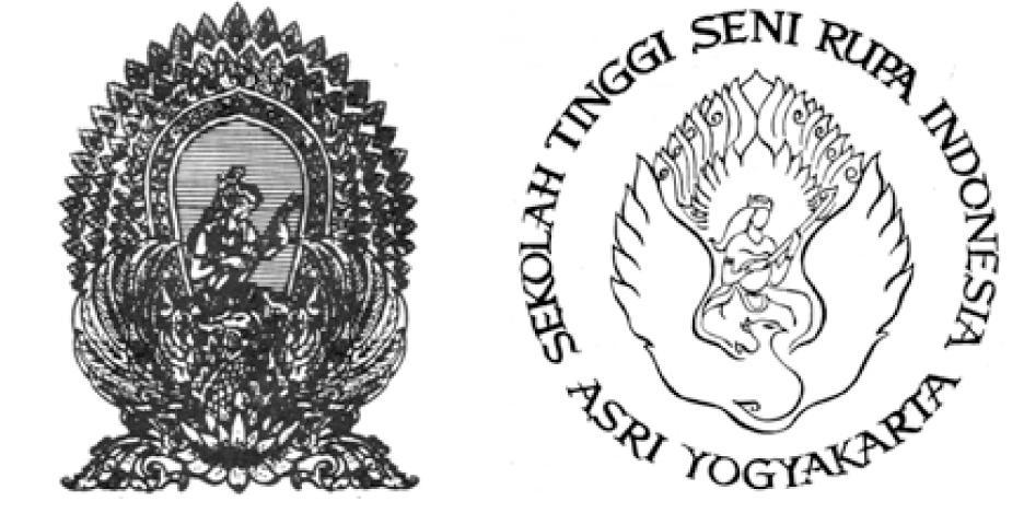 Lambang ASRI dan Lambang STSRI ASRI  (dok: Baskoro SB)
