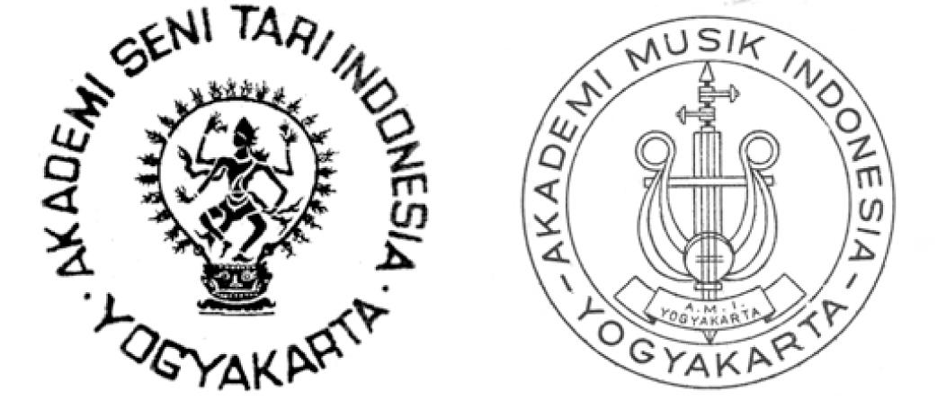 Lambang ASTI dan Lambang AMI (dok: Baskoro SB)