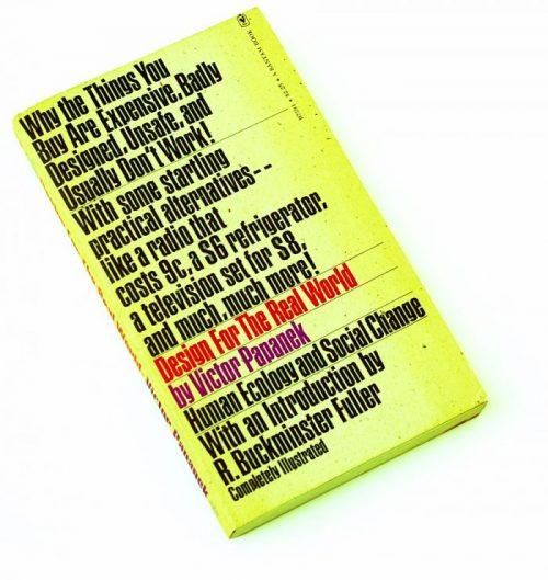 Sampul buku Design for the Real World, Victor Papanek.